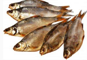 вяленую рыбу