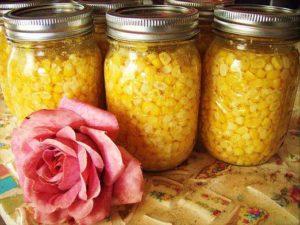 консервировать кукурузу