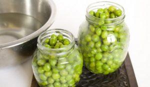 консервировать зеленый горошек