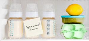 Срок годности сцеженного грудного молока в холодильнике