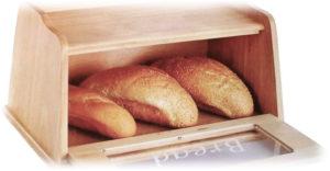 Каким раствором протирают полки для правильного хранения хлеба
