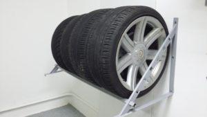 Правила хранения колес в гараже